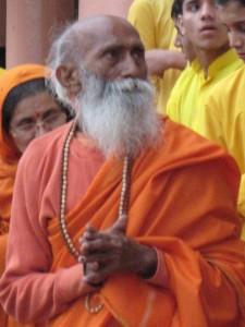 Swami Yogananda at 102: my beloved Yoga teacher in Rishikesh, India.